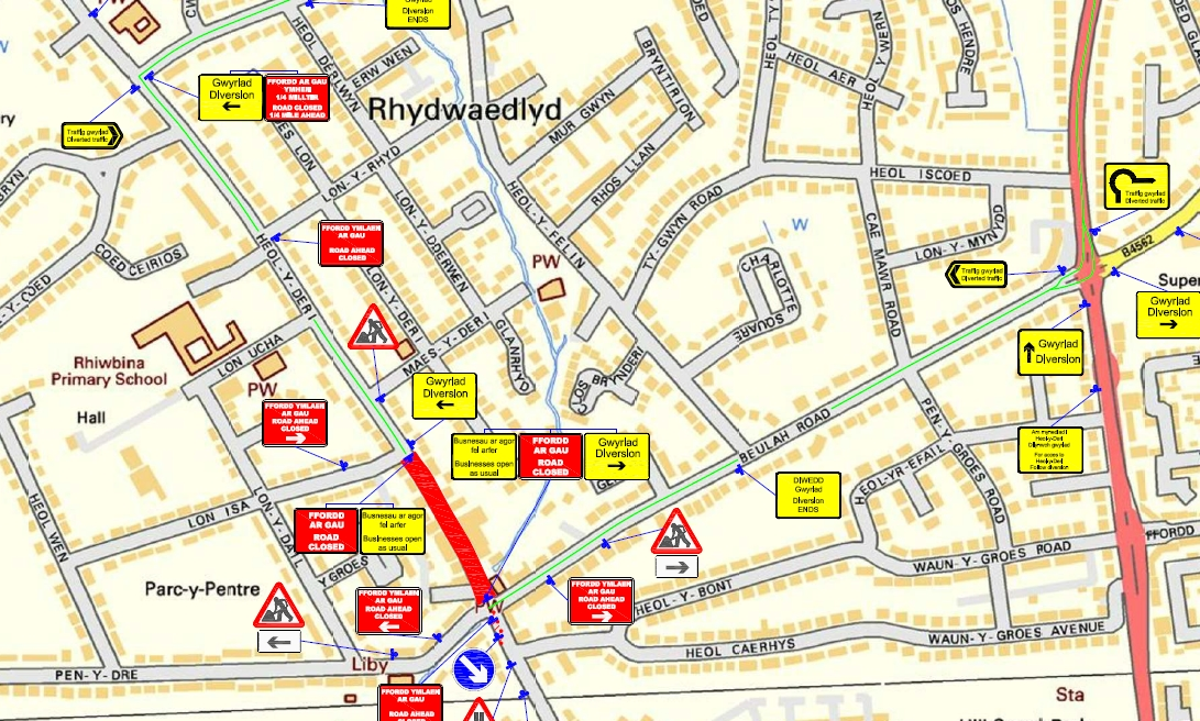 rhiwbina_road_closure_Feb18